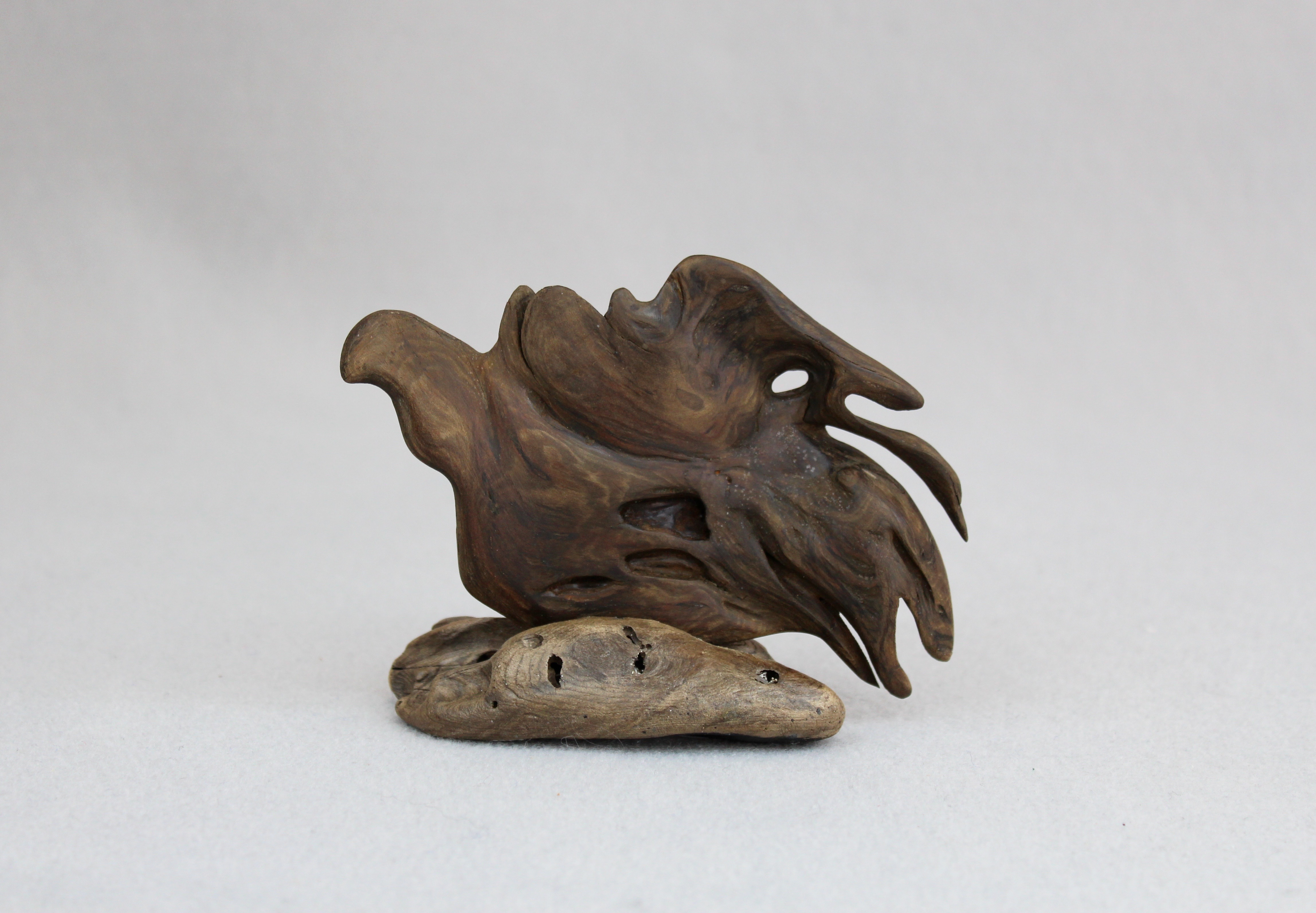 Miniature sculptures northwest driftwood artists