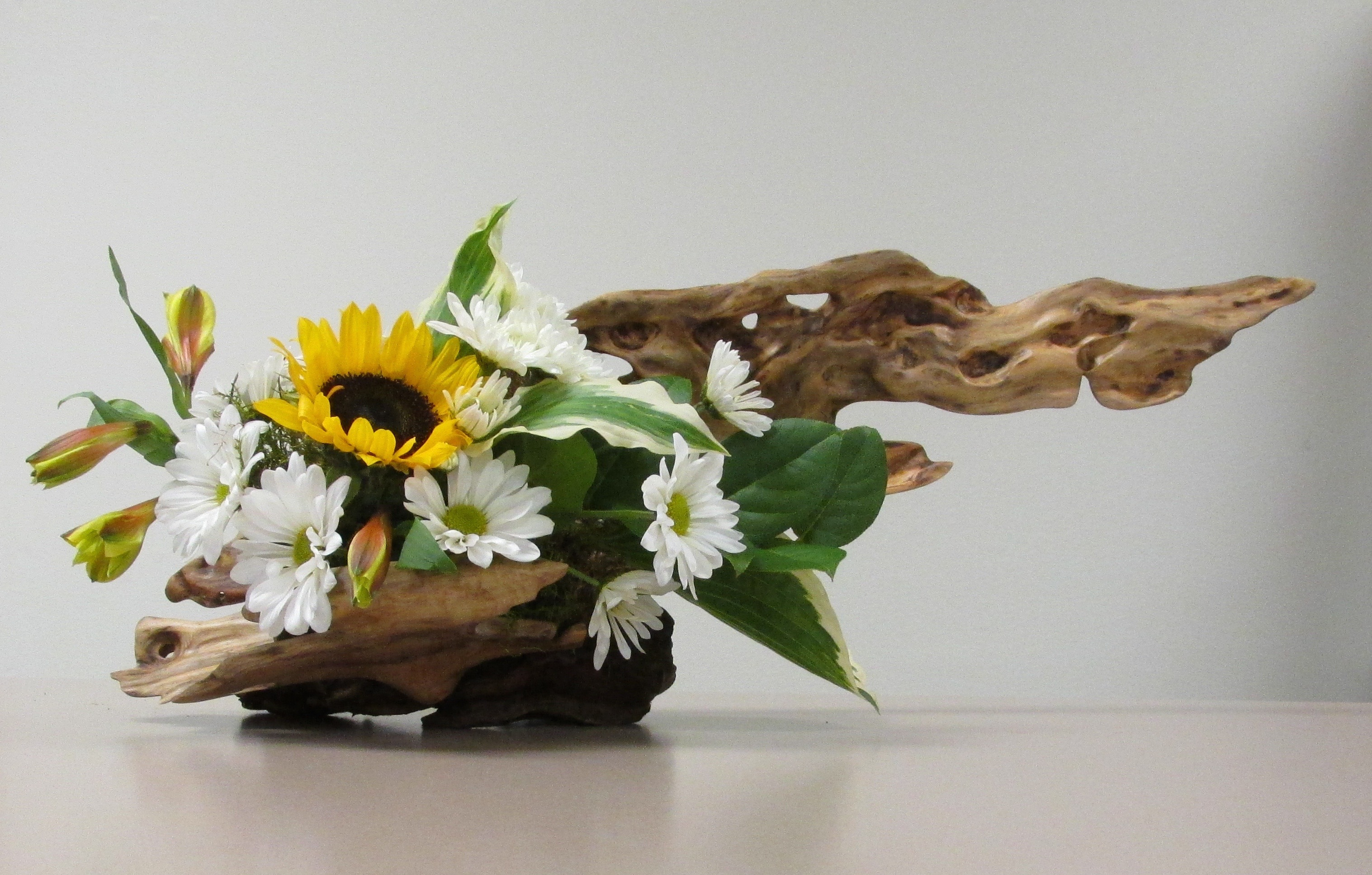 Monthly Calendar Of Events : Driftwood flower arranging northwest artists