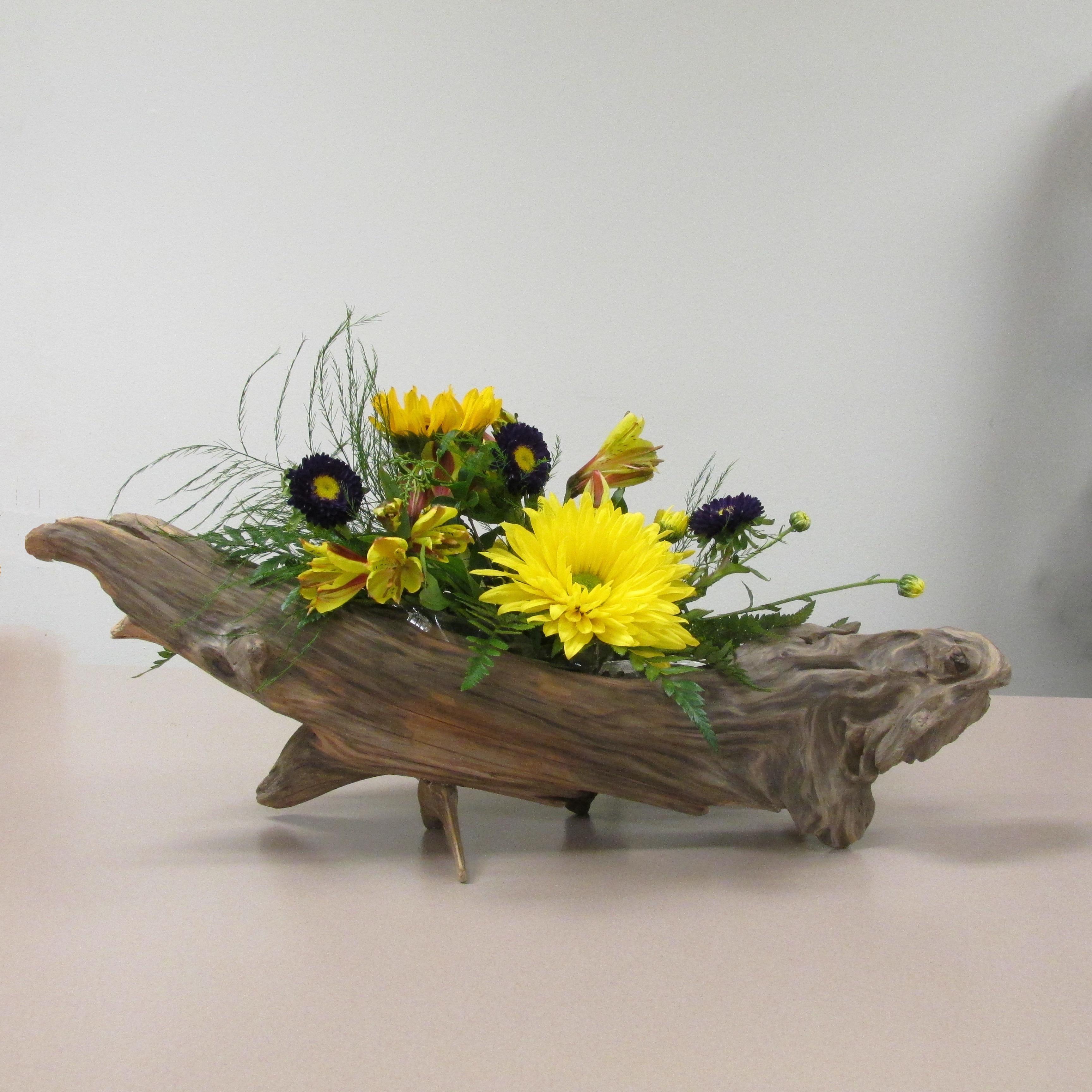 driftwood flower arranging 101